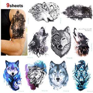 Konsait Upper Back Tattoo Design