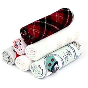 Ruvanti Pattern Flannel Burp Cloth