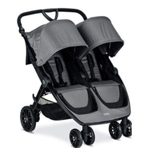 Britax Lightweight Infant Toddler Double Stroller