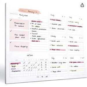 Lamare Work Schedule Organizer