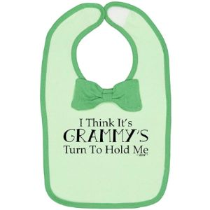 Baby G Baby Bib With Bow Ties