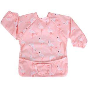 Luxja Long Sleeve Toddler Bib