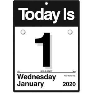 Ataglance Design Mini Calendar