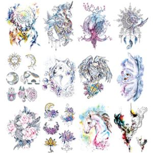 Oottati Unicorn Tattoo Design