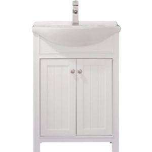 Luca Kitchen & Bath White Cabinet