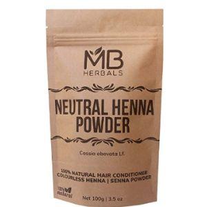 Mb Herbals Yellow Henna Powder