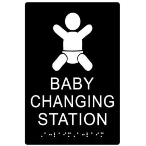 Stopsignsandmore Baby Changing Station Sign