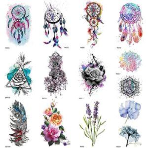 Coktak Dreamcatcher Tattoo Design