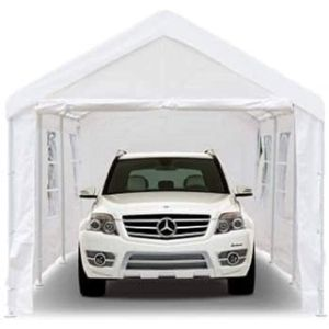 Peppermint Store Used Car Tent