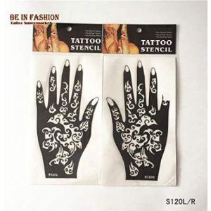 Henna Stencils Small Size Tattoo Design
