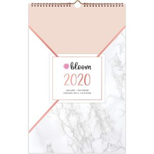 Bloom Daily Planners January Calendar 2019