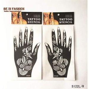 Henna Stencils Tattoo Stencil Art