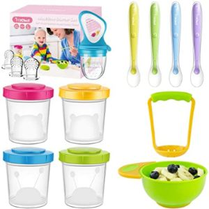 Visit The Michef Store Baby Food Feeder Spoon
