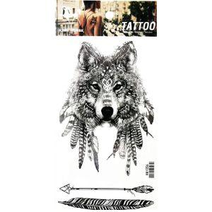 Pp Tattoo Wolf Henna Tattoo