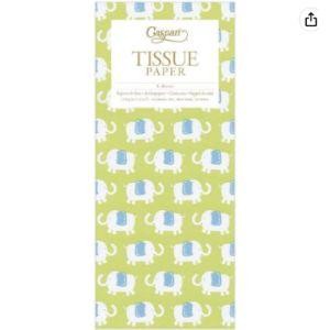 Caspari Elephant Tissue Paper