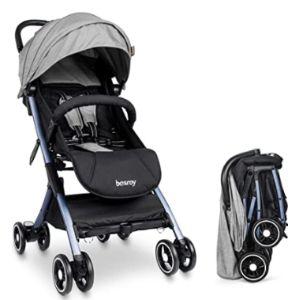 Besrey Baby Stroller Easy Fold