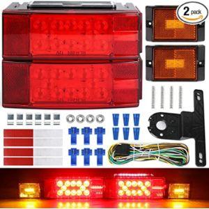 Linkitom Waterproof Led Trailer Light Kit