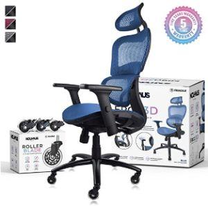 Nouhaus Floor Mat Rolling Chair