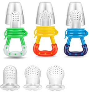 Pandaear Baby Food Feeder Pacifier