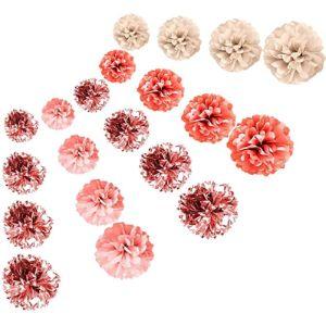 Wsnyy Tissue Paper Flower Rose