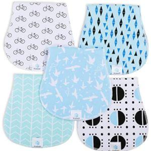 Jcube&P Baby Burp Cloth Organic Burp Cloth