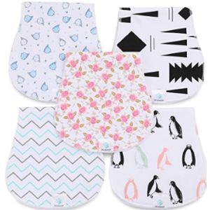 Jcubep Baby Burp Cloth Burp Pattern Rag