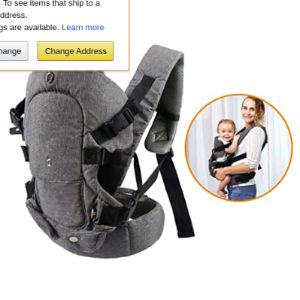 Caiyuangg Lightweight Toddler Carrier