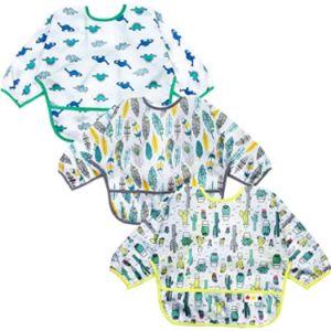 Huadada Long Sleeve Toddler Bib
