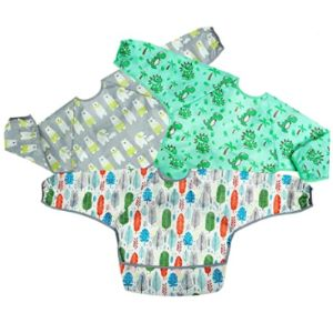 Pandaear Long Sleeve Toddler Bib