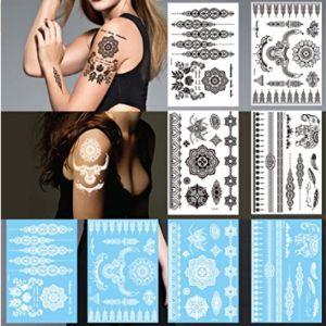 Leoars Forearm Henna Tattoo