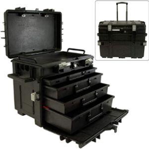 Gray Tools Plastic Mobile Tool Box
