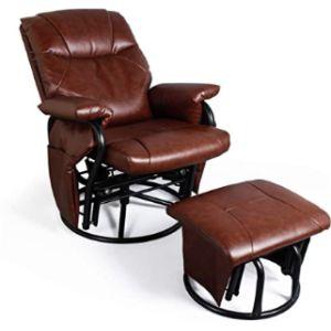 Jiasting Swivel Chair Footstool