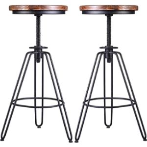 Lokkhan S Adjustable Metal Stool