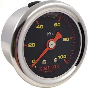 Kmotor Performance Efi Fuel Pressure Gauge