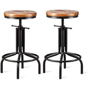 Topower Adjustable Metal Stool