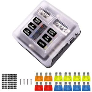 Ebely Automotive Fuse Box With Relays