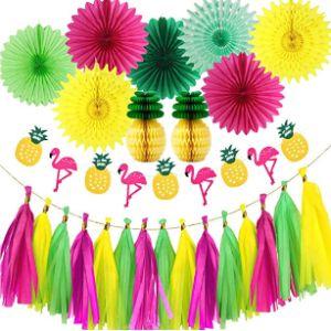 Yong Party Yellow Tassel Garland
