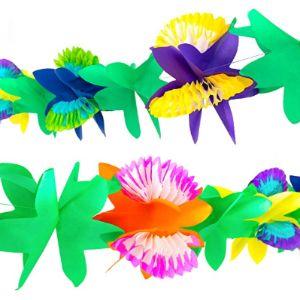 Imagine Splash Tissue Paper Flower Garland