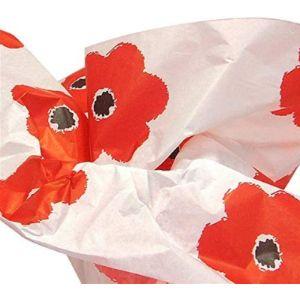 Shanna-Bananapeels Tissue Paper Poppy
