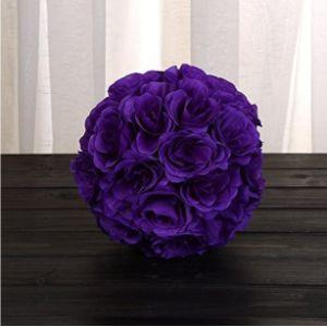 Szkn Purple Shaped Flower Ball