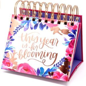 Bloom Daily Planners Undated Desk Pad Calendar