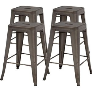 Fdw Bar Stool Chair Set
