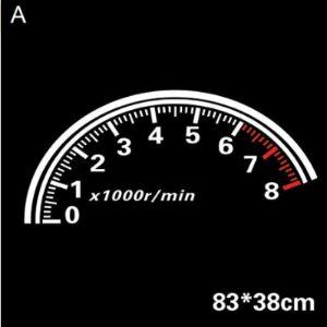 Car777 Speedometer Sticker