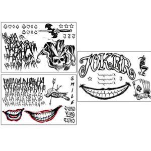 Clooouds Joker Tattoo Design