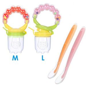 Nasjac Baby Food Feeder Pacifier