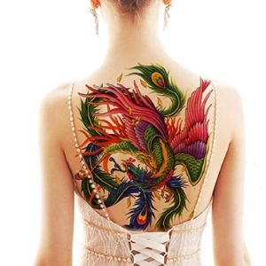 Shaotong Upper Back Tattoo Design