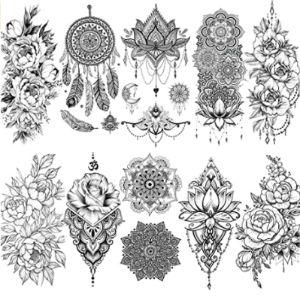 Vantaty Henna Tattoo Arm
