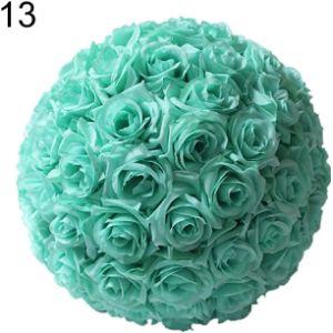 Schicj133Mm Royal Blue Flower Ball