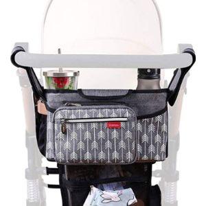 Lekebaby Baby Stroller Organizer