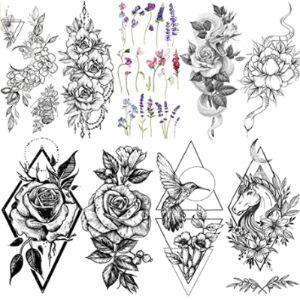 Vantaty Unicorn Tattoo Design